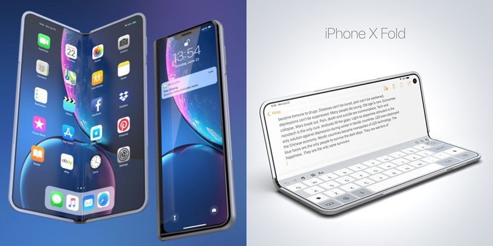 Self-healing display for foldable iPhone seen in Apple patent app - 9to5Mac