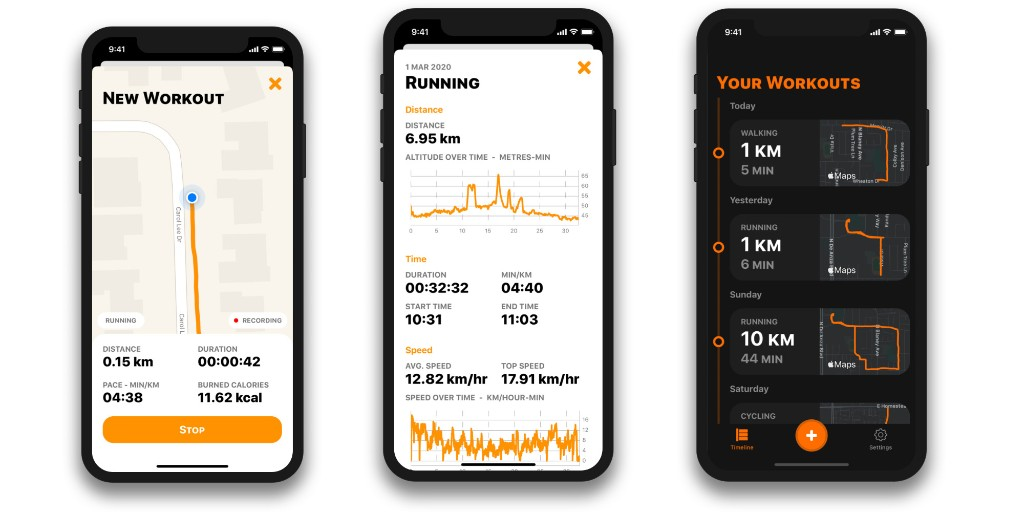 OutRun is a simple iPhone run tracker that is privacy focused and integrates with Apple Health - 9to5Mac