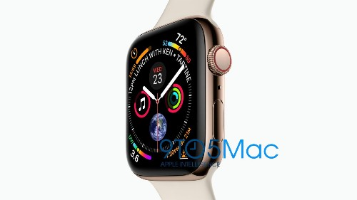 Apple sitemap leak reveals new 40mm and 44mm Apple Watch Series 4 sizes, gold stainless steel case