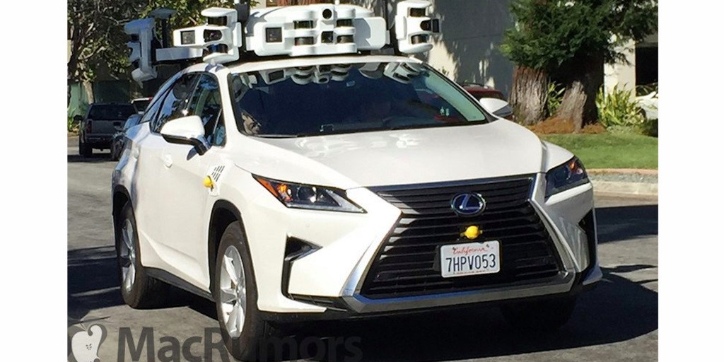 New images show Apple SUVs with expanded LIDAR system for self-driving data collection - 9to5Mac