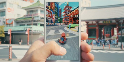 You can now play Mario Kart Tour on iPhone and iPad