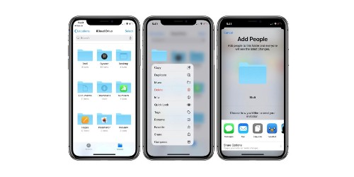 How to share iCloud Drive folders from iPhone and iPad - 9to5Mac