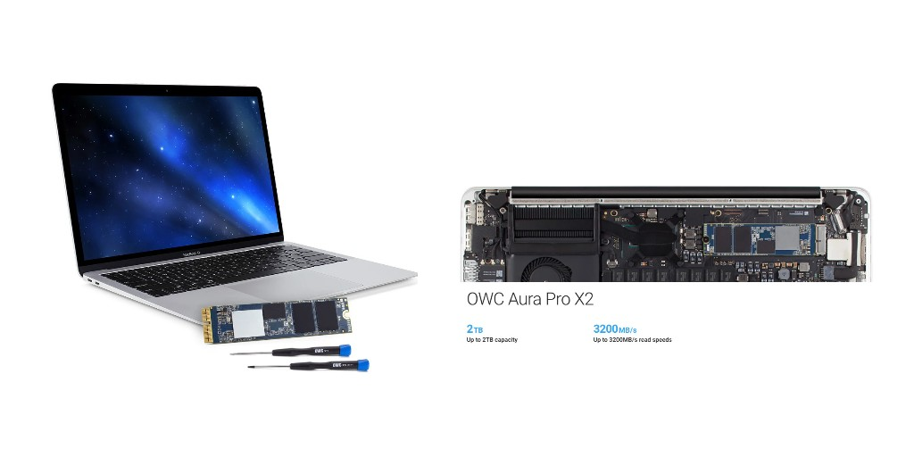 Update your Mac SSD with OWC's Aura Pro X2 upgrade kits - 9to5Mac
