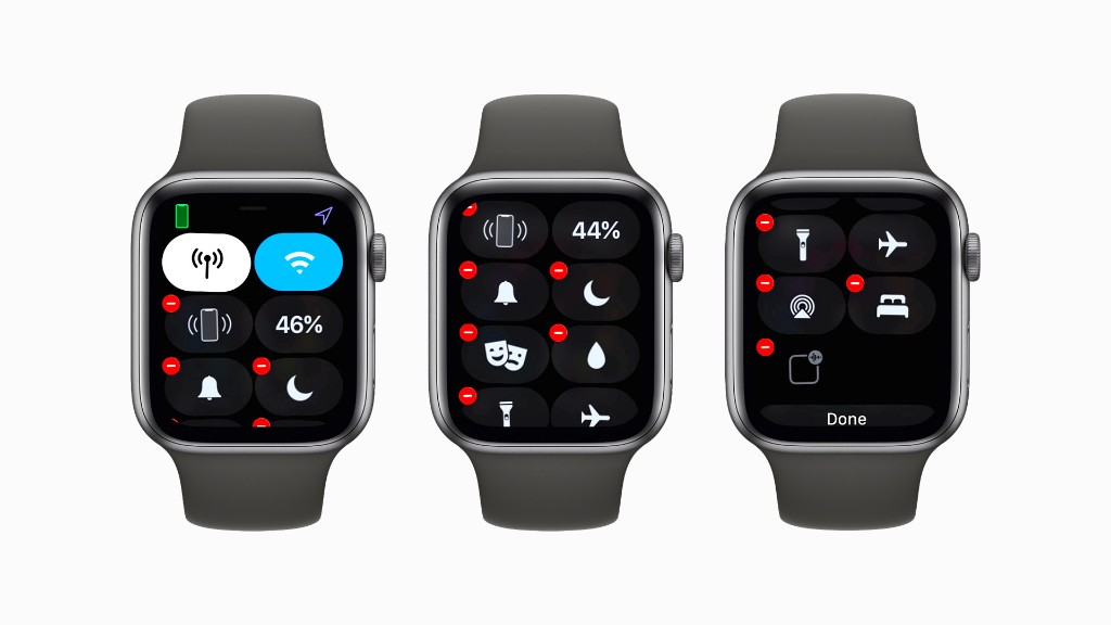 watchOS 7: Here's how to hide Control Center tiles - 9to5Mac