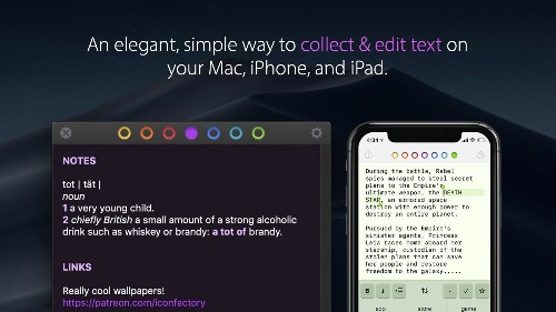 Tot is new text editor for Mac, iPhone, and iPad focused on constraints and ease of use - 9to5Mac