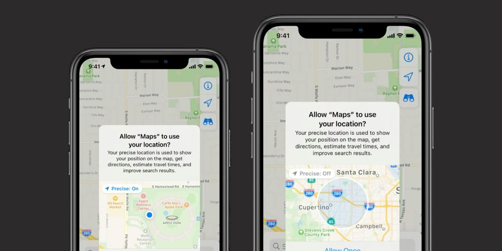 iOS 14 lets users grant approximate location access for apps that don't require exact GPS tracking - 9to5Mac