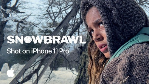Apple's latest 'Shot on iPhone 11 Pro' video showcases a cinematic snowball fight