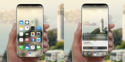 Gorgeous iPhone 8 concept imagines Siri w/ augmented reality features [Gallery]