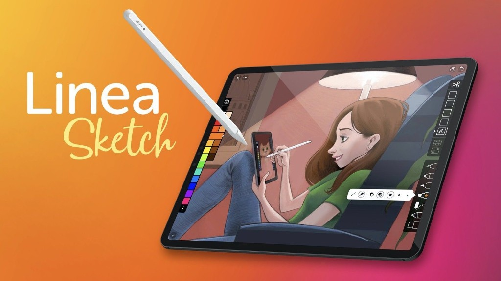 Linea Sketch version 3 released with time-lapse screen recording, custom background tool, more - 9to5Mac