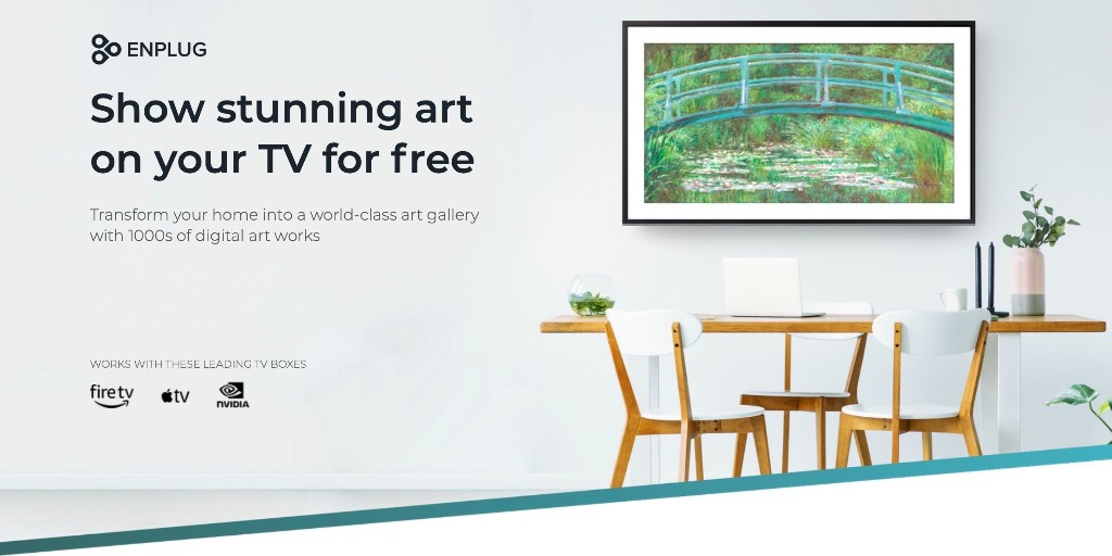 Apple TV artwork arrives for free with Enplug app - 9to5Mac