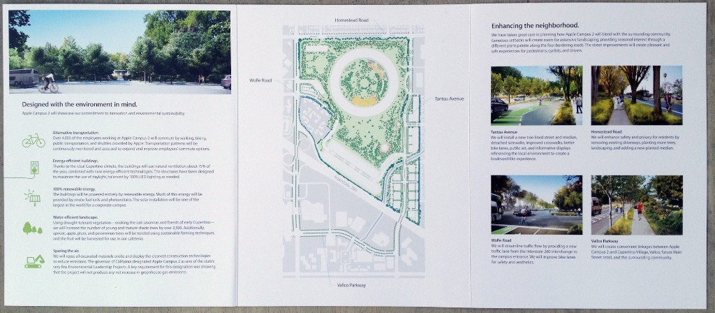 Apple is again sending around updated brochures to Cupertino residents on upcoming Campus 2 project - 9to5Mac