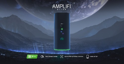 AmpliFi launches 'Alien' as its first Wi-Fi 6 mesh router with 4 Ethernet ports, color touchscreen, 8×8 MIMO, more