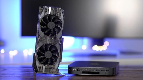 How to: 2018 Mac mini + Nvidia GeForce RTX 2080 eGPU Windows gaming setup [Video]
