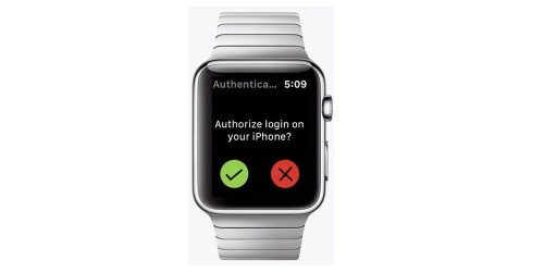 Your Apple Watch could replace passwords using one-tap authentication