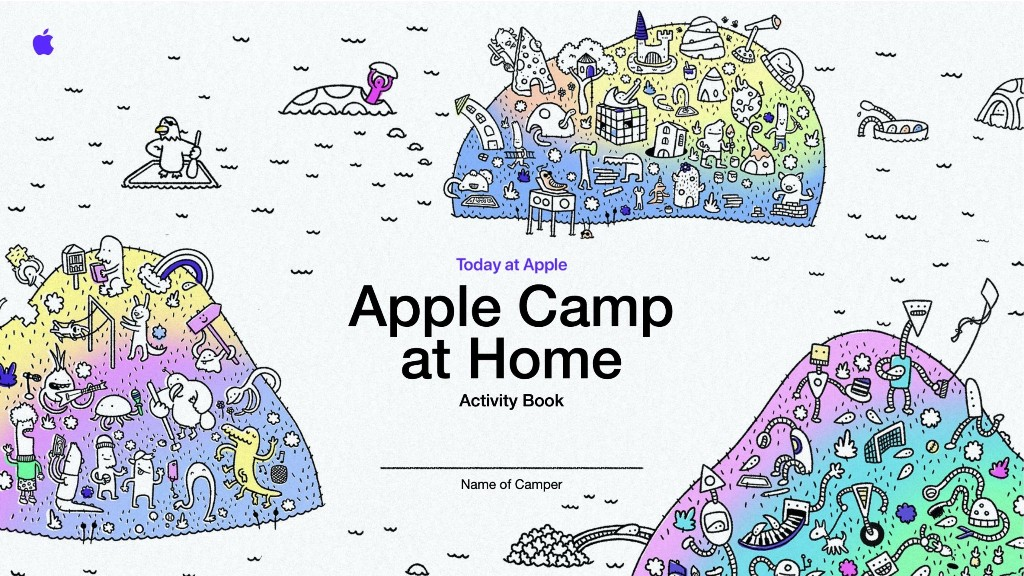 Apple Camp at Home registration now open with free creative Activity Book - 9to5Mac