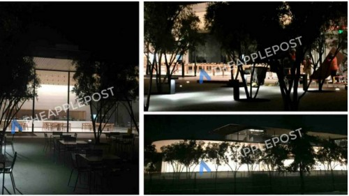 New images show near-completed Apple Park Visitor Center ahead of Tuesday's event