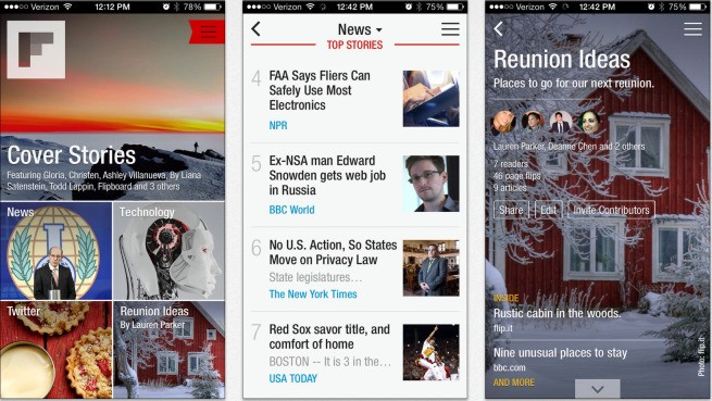 Flipboard speeds up iOS app, freshens up the interface for iOS 7