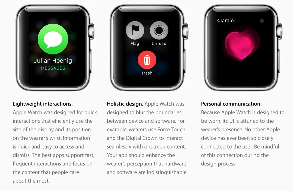 Apple redesigns Apple Watch interface guidelines website for developers - 9to5Mac