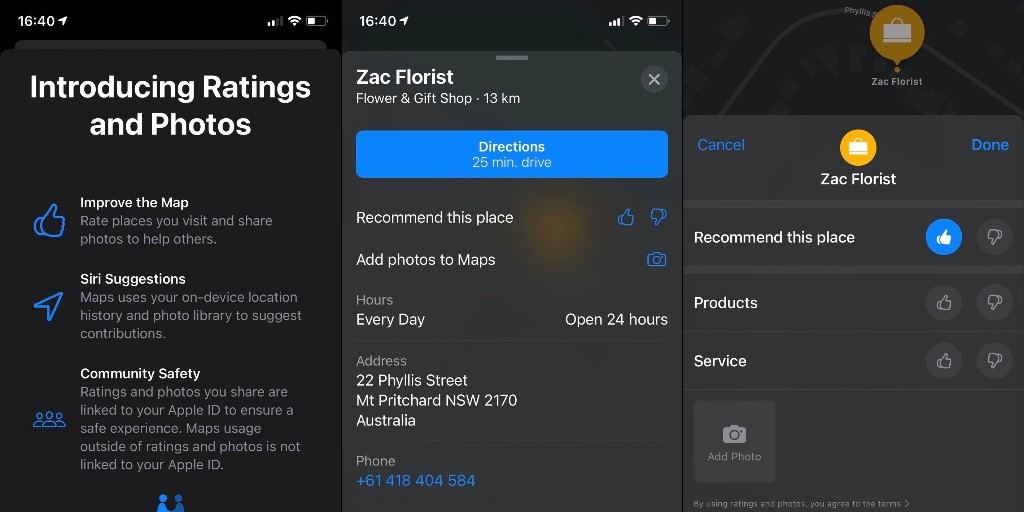 Apple Maps launches in-house ratings and photos system for points of interest - 9to5Mac
