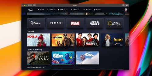 'Clicker for Disney+' is a macOS app with picture-in-picture, Touch Bar controls, more