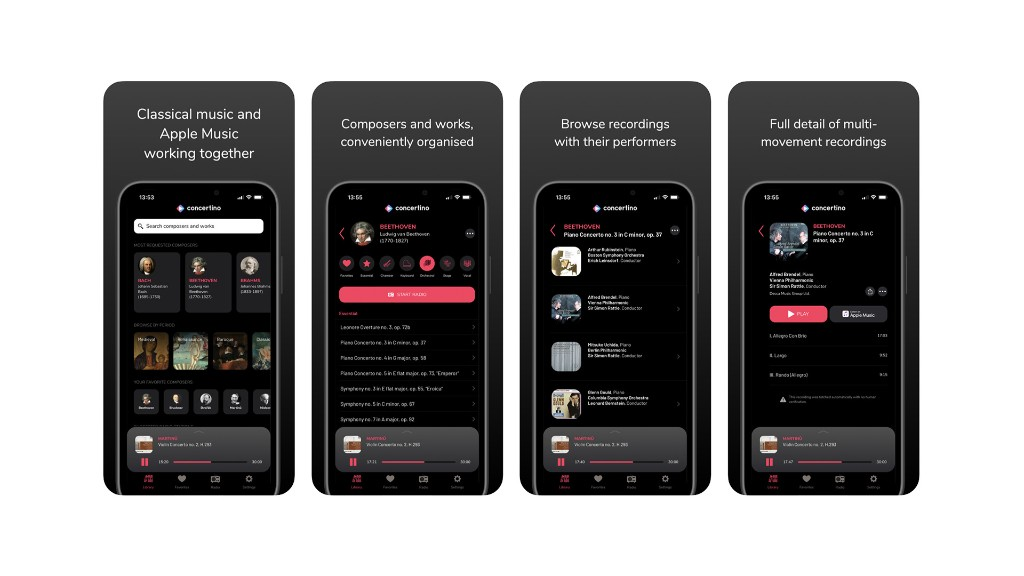 Classical music app 'Concertino' for Apple Music now available for iOS - 9to5Mac
