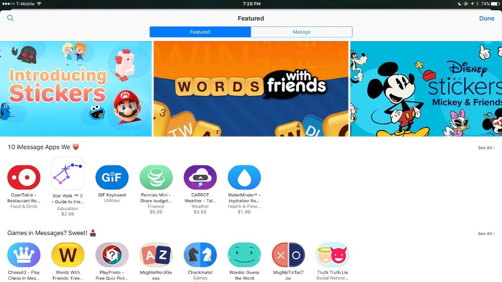 Apple launches iMessage App Store with various iMessage apps, games, and sticker packs - 9to5Mac