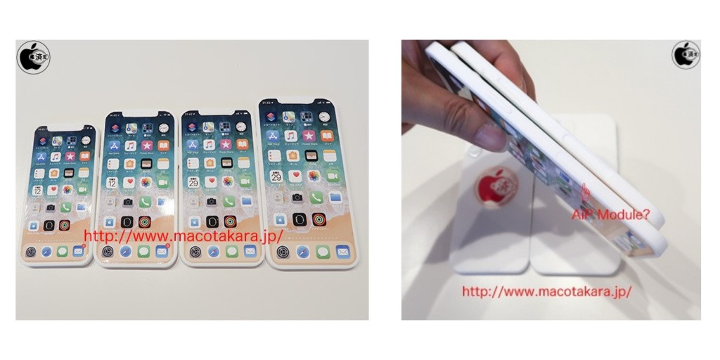 Images claim to show iPhone 12 dummy units with relocated SIM tray to make room for 5G AiP - 9to5Mac
