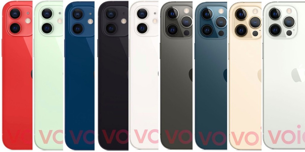 iPhone 12 colors leaked – what's your favorite? - 9to5Mac