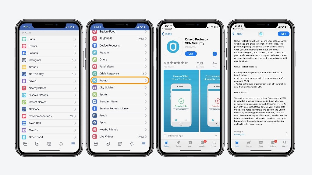 Facebook's 'Protect' feature on iOS essentially installs spyware on iPhone and iPad - 9to5Mac