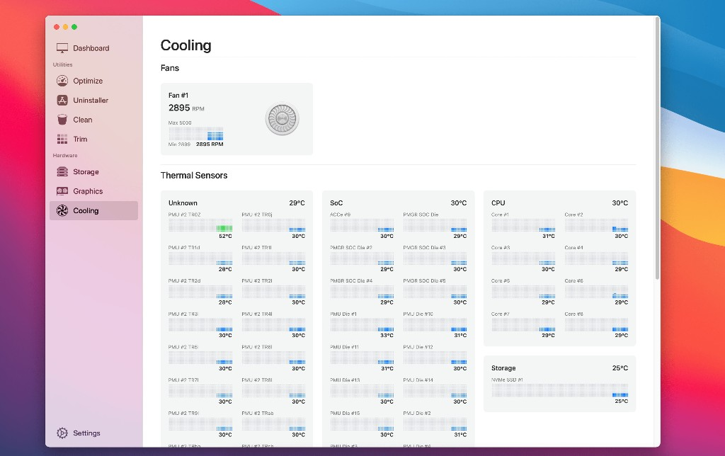 Sensei Mac app gets update with temperature and fan monitoring for M1 Macs - 9to5Mac