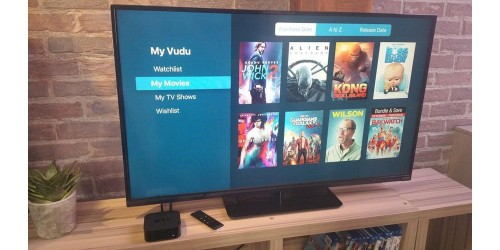 PSA: Vudu now on Apple TV, lets you watch (some of) your Blu-ray discs & DVDs online