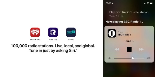 Apple starts to roll out support to play 100,000 radio stations with Siri on iPhone and HomePod - 9to5Mac