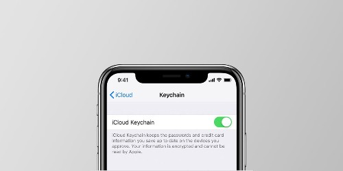 How to use iCloud Keychain to manage and store your passwords