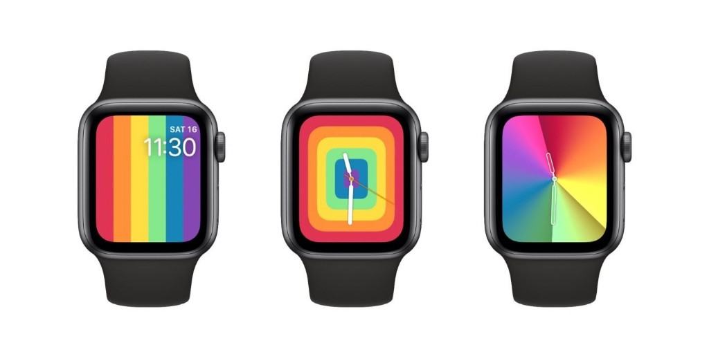 New Apple Watch faces: 2020 Pride and rainbow Gradient - 9to5Mac
