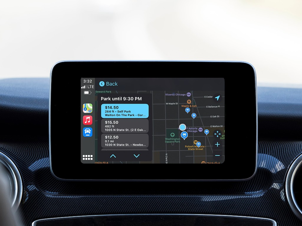 SpotHero digital parking service announces integration with Apple CarPlay - 9to5Mac