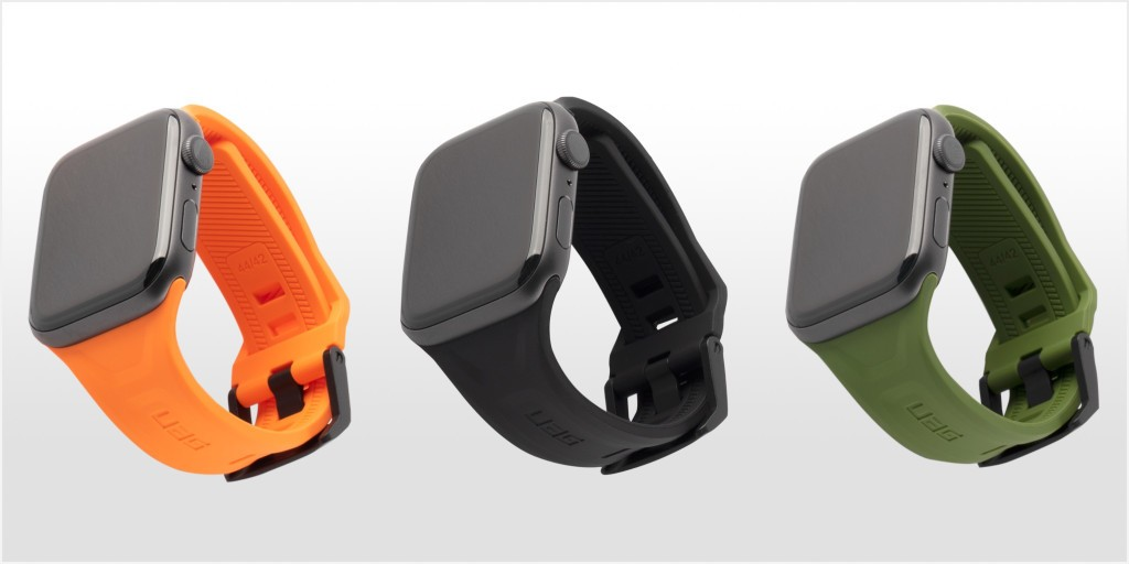 UAG launches silicone Apple Watch bands with traditional buckle hardware - 9to5Mac