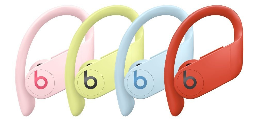 Hands-on with Powerbeats Pro in Spring Yellow, Cloud Pink, Lava Red, and Glacier Blue colors - 9to5Mac