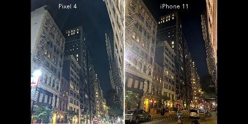 Night mode versus Night Sight: MacWorld test says iPhone 11 beats Pixel 4
