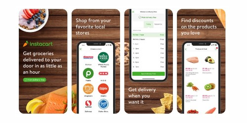 Latest Apple Pay promotion offering free grocery delivery with Instacart