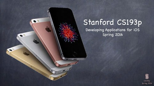 Stanford releases Spring session of its popular 'Developing Apps for iOS' iTunes U course - 9to5Mac