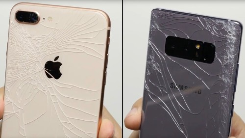 Here's how well the iPhone 8's new all-glass design holds up [Video]