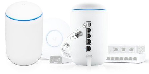 UniFi Dream Machine blends WiFi router and Gigabit switch with advanced security gateway for business or home use