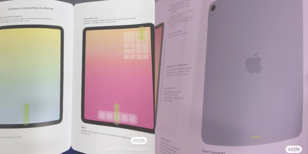 Alleged iPad Air 4 pamphlet shows new full-screen design, Touch ID power button, USB-C - 9to5Mac