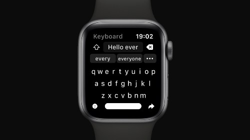 Shift Keyboard introduces a new way to write messages on Apple Watch