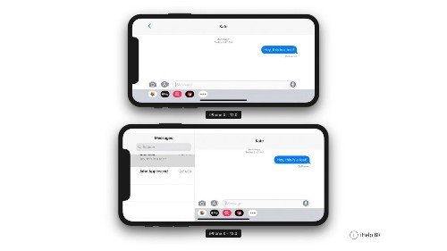 iOS 12 beta hints at rumored iPhone X Plus with iPad-like landscape app design