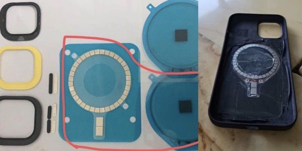 iPhone 12 chassis rumored to feature a ring of magnets, perhaps for mounting to a new charging accessory - 9to5Mac
