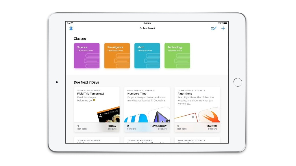 Hands-on with Apple's new Schoolwork app on iPad [Gallery] - 9to5Mac