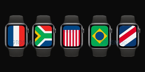 watchOS 7 to include new 'International' Apple Watch face with multiple country flags - 9to5Mac