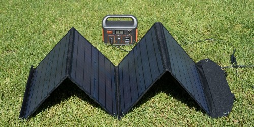 Rockpals 100W Foldable Solar Panel Review: Keep charging while off-grid [Video]