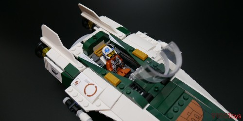 LEGO Resistance A-Wing Review: Most value-packed Star Wars set of the year